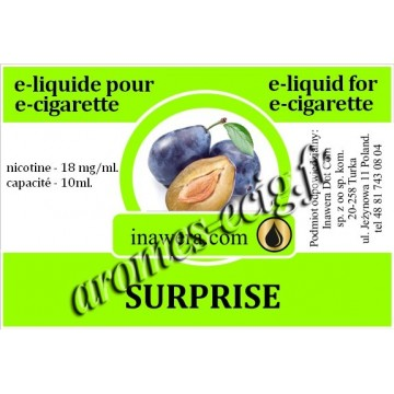 E-Liquide Surprise 18 mg Inawera