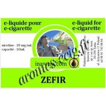 E-Liquide Zefir 18 mg Inawera