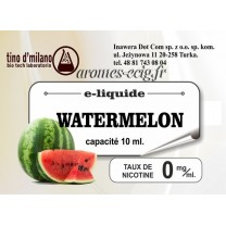 E-Liquide Pasteque 0 mg Tino D'Milano
