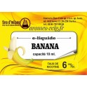 E-Liquide Banane 6 mg Tino D'Milano