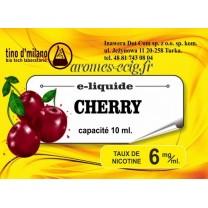 E-Liquide Cerise 6 mg Tino D'Milano