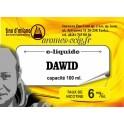 E-Liquide Dawid 6 mg Tino D'Milano