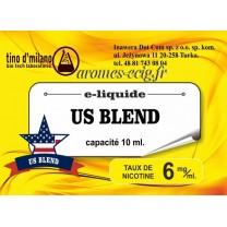 E-Liquide US Blend 6 mg Tino D'Milano