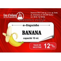 E-Liquide Banane 12 mg Tino D'Milano