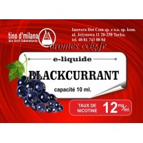E-Liquide Cassis 12 mg Tino D'Milano
