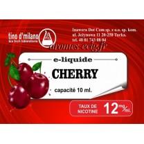 E-Liquide Cerise 12 mg Tino D'Milano
