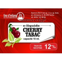 E-Liquide Cerise Tabac 12 mg Tino D'Milano
