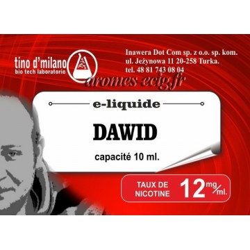 E-Liquide Dawid 12 mg Tino D'Milano