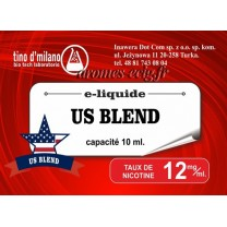 E-Liquide US Blend 12 mg Tino D'Milano
