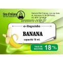 E-Liquide Banane 18 mg Tino D'Milano