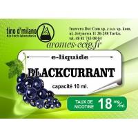 E-Liquide Cassis 18 mg Tino D'Milano