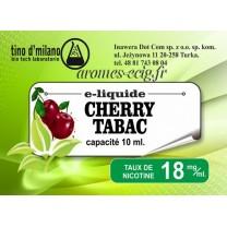 E-Liquide Cerise Tabac 18 mg Tino D'Milano