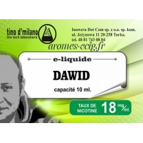 E-Liquide Dawid 18 mg Tino D'Milano