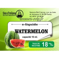E-Liquide Pasteque 18 mg Tino D'Milano