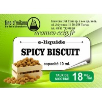 E-Liquide Spicy Biscuit 18 mg Tino D'Milano