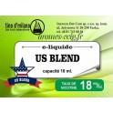 E-Liquide US Blend 18 mg Tino D'Milano