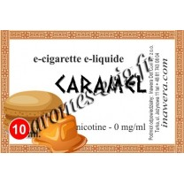 E-liquide Caramel 0 mg Bayca