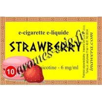 E-liquide Fraise 6 mg Bayca