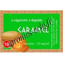E-liquide Caramel 18 mg Bayca