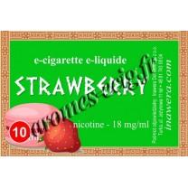 E-liquide Fraise 18 mg Bayca