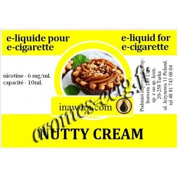 E-Liquide Crème De Noisette 6 mg Inawera