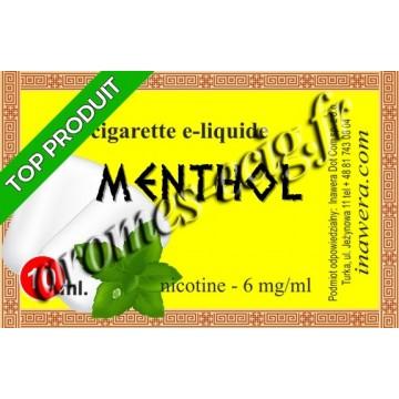 E-liquide Menthol 6 mg Bayca