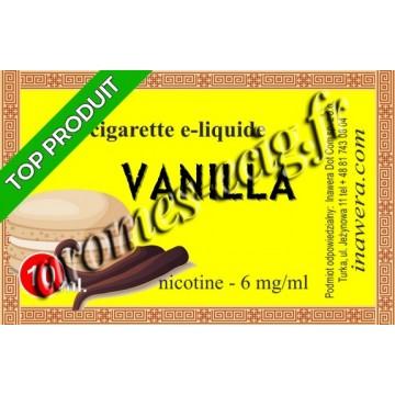 E-liquide Vanille 6 mg Bayca