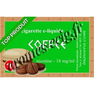 E-liquide Café 18 mg Bayca