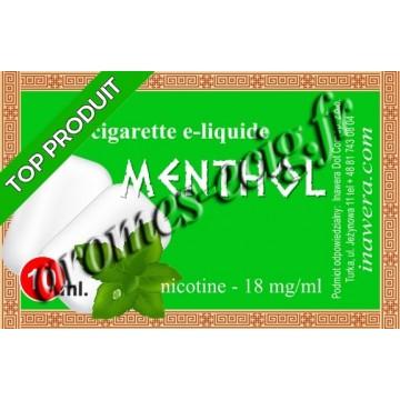 E-liquide Menthol 18 mg Bayca