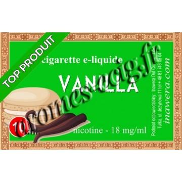 E-liquide Vanille 18 mg Bayca