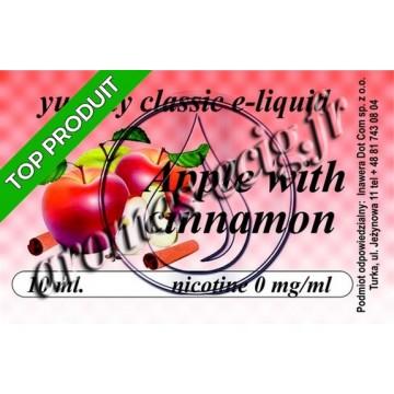 E-Liquide Pomme Cannelle 0 mg TDM classique