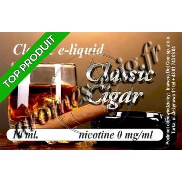 E-Liquide Cigare 0 mg TDM classique