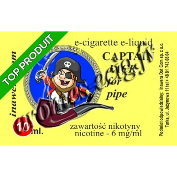 E-Liquide Captain Jack 6 mg TDM classique