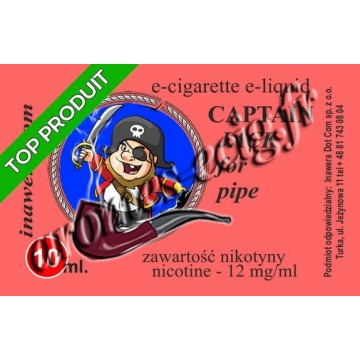 E-Liquide Captain Jack 12 mg TDM classique