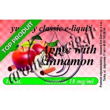 E-Liquide Pomme Cannelle 18 mg TDM classique