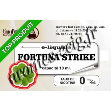 E-Liquide Fortuna Strike 0 mg Tino D'Milano