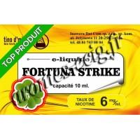 E-Liquide Fortuna Strike 6 mg Tino D'Milano