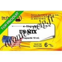 E-Liquide US Mix 6 mg Tino D'Milano