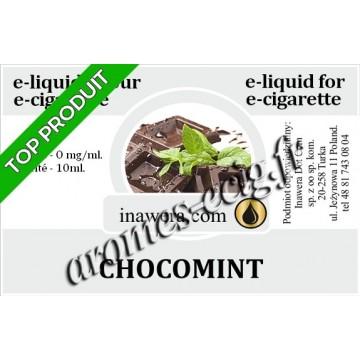 E-Liquide Chocomint 0 mg Inawera