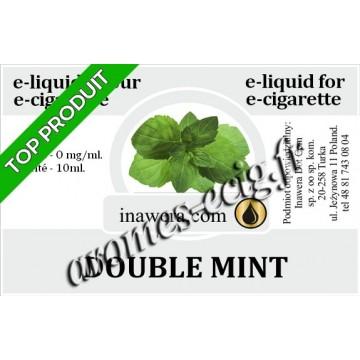 E-Liquide Double Menthe 0 mg Inawera
