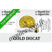 E-Liquide Gold Ducat 0 mg Inawera