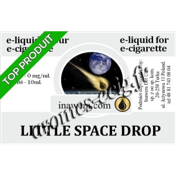E-Liquide Little Space Drop 0 mg Inawera