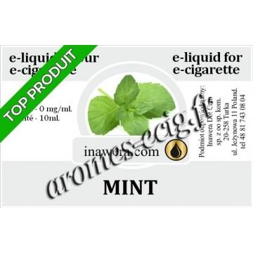 E-Liquide Menthe 0 mg Inawera