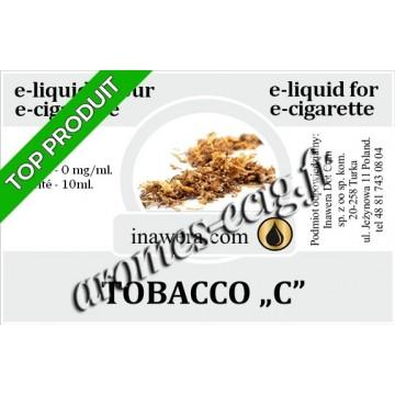 E-Liquide Tobacco C 0 mg Inawera