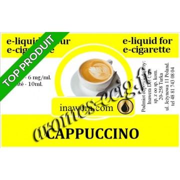 E-Liquide Cappuccino 6 mg Inawera