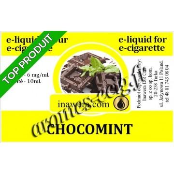 E-Liquide Chocomint 6 mg Inawera