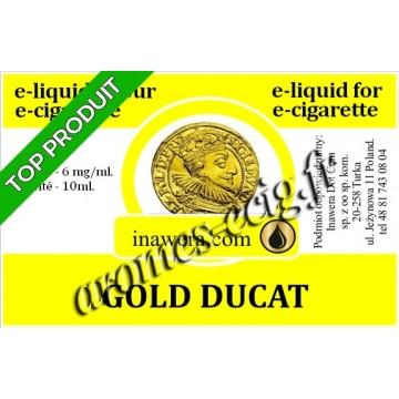 E-Liquide Gold Ducat 6 mg Inawera