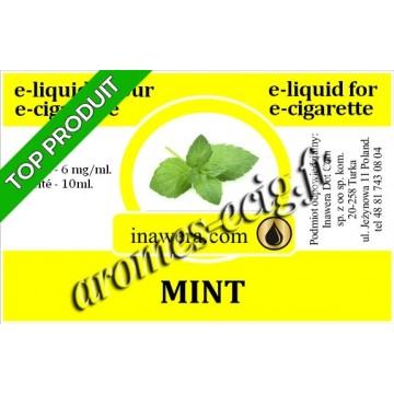 E-Liquide Menthe 6 mg Inawera