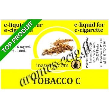 E-Liquide Tobacco C 6 mg Inawera
