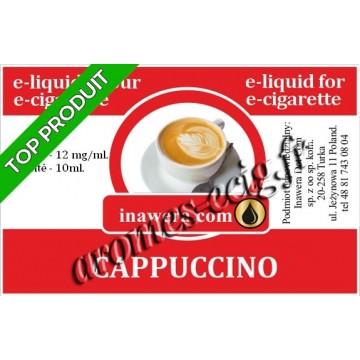 E-Liquide Cappuccino 12 mg Inawera